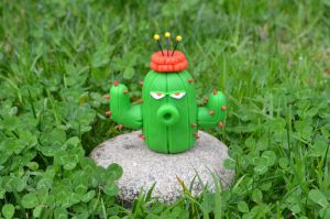 Cactus Clay Tutorial (Check the video tutorial!) by CraftDragons