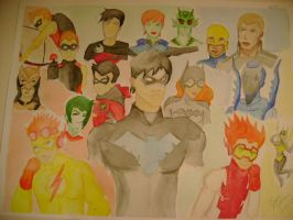 Young Justice by cowlover2