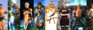 Dead or Alive 5 Last Round My Favourites by ARTZYxDUDE