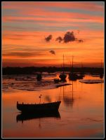 Leigh-on-Sea Sunset by andygray