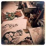 Drawing Table by joverine