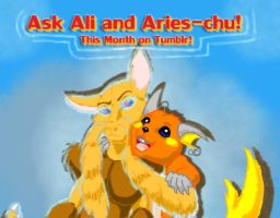 Ask Ali and Aries-chu by PewterKat