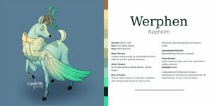 [COMM] Werphen Reference Sheet by Zarryberry