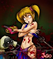 lollipop chainsaw by JagoDibuja