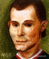Minuscule Niccolo Machiavelli by Paintsmudger