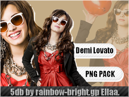 Demi Lovato PNG PACK by Ellaa12