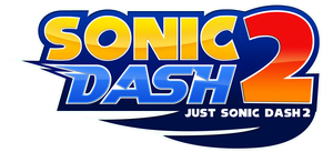 Sonic Dash 2 Logo (Not Boom) by NuryRush