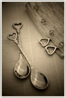 Heart spoon set by shatinn