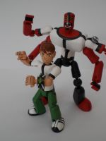 Ben 10 with Four-Arms 2 by JWBeyond