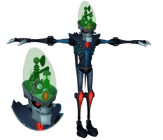 Ratchet and Clank: ACiT - Dr. Nefarious by o0DemonBoy0o