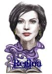 Evil Queen/Regina by jokercrazy
