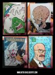 HCF2014 Sketch Cards. by THEjesusmarquez