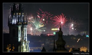 Prague - New Year by scoorf