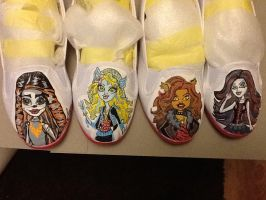 Monster high shoes by Wilson250380