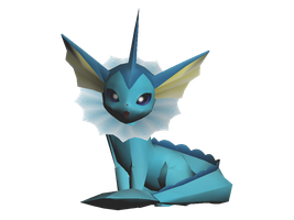 Vaporeon :-D by riolushinx
