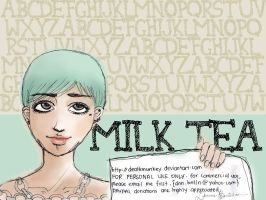 Denne Milk Tea by deathmunkey
