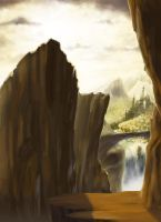Gorge Concept Background by TheMuteRobot
