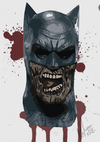 Batman zombie (by Peter Stylianou) by PeterVsAll