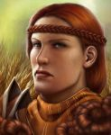 Aveline Vallen by DragonReine
