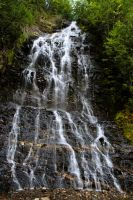 Nakusp Waterfall Stock by leeorr-stock