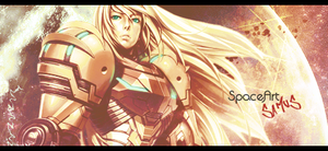 SpaceArt Theme - Samus from Metroid by D-Costarelo