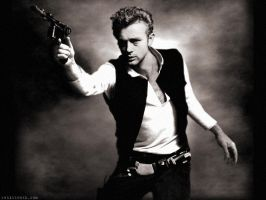 James Dean as Han Solo by Rabittooth