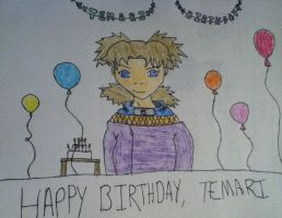 Happy Birthday Temari! by AnonAmanda