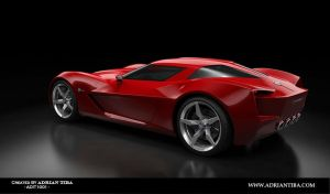 Corvette Stingray by adit1001
