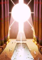 Sun Temple 03 by Lelia