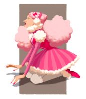 Poodle Girl by It-is-a-circle