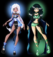 TRADE/COM: Nova and Hypolinicia Angel Starz by SamoanVampCatt