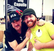 Greg Capullo and Me by luisochoa