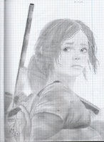 The Last Of Us- Ellie by Raven-RayRay