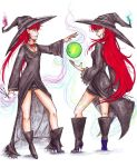 Twin witches by Odire-san