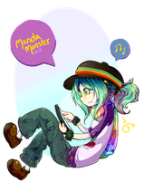 Rainbow Hobo Princess by a-fools-paradise