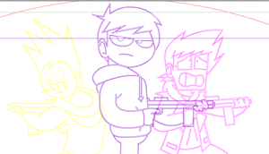 Eddsworld: The Movie - Rough Poster Outlines by SuperSmash3DS