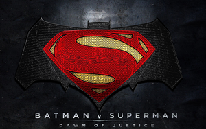 Batman v Superman: Dawn of Justice (new logo) by Alexbadass
