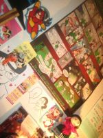 My Work Wall 2 by ChibiCelina