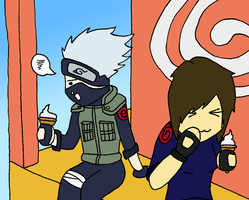 Request: Sarate and Kakashi by Forced-enjoyment
