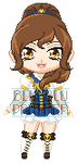 ChibiP: Sailor Temporis by SugarRoseDoll