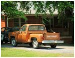A Chevy Stepside Pickup Truck by TheMan268