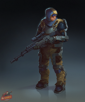 Exo suit sniper by looking4adventures