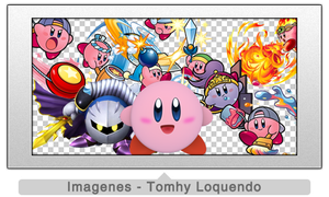 Pack Renders Kirby by TomhyLoquendo