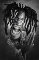 Busta Rhymes by mrpeculiar