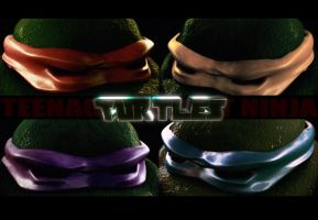 TMNT by Guile93