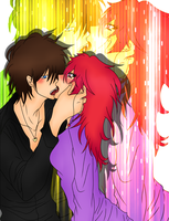 Lali x Jack Hot kiss by Lali-the-Bunny