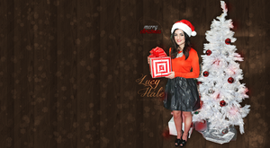 Wallpaper with Lucy Hale by SweetNatalii