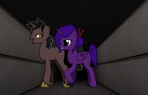 Incident-682-B (682 x Fortuna) by thequeenalien