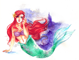 Disney Princesses: Ariel by utenaxchan