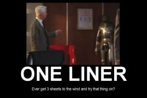 Roger Sterling One-Liner by MyBizarreRomance
